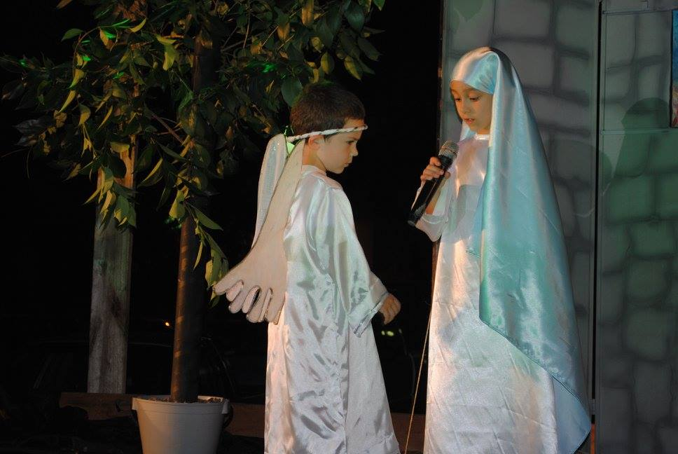 Scènes bibliques vivantes pour le 8 décembre @diocèse de Tacuarembo