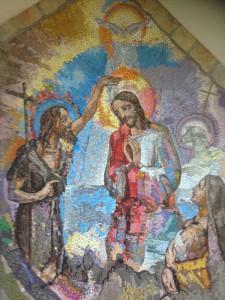Baptême de Jésus. @Sanctuaire de Medjugorje