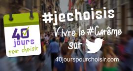 Chaque jour, un #jechoisis sur http://40jourspourchoisir.com/