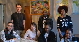 Quelques jeunes du quartier Beauregard