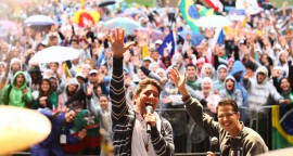 Festival de la jeunesse aux JMJ de Rio