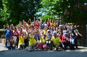 Les bénévoles lors de JPentecôte 2012