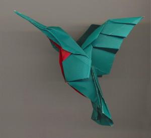 Une façon plus artistique de recycler du papier...