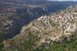 Vue d'Hasroum (Liban)