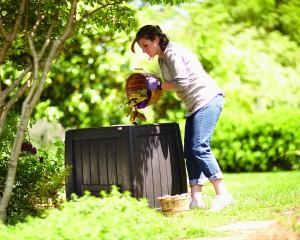 Le compost, parfait pour les déchets végétaux