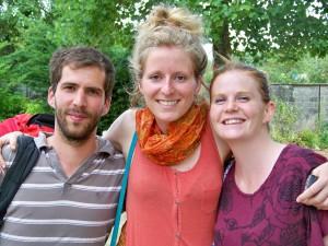 Mathias, Amandine et Guillemette