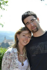 Blandine et son mari