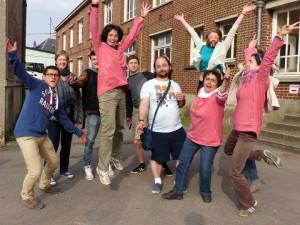 La joie et les jeunes, ici dans le Nord lors d'un temps fort diocésain
