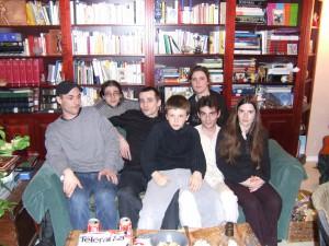Quelques uns des frères et soeurs, quand nous étions petits