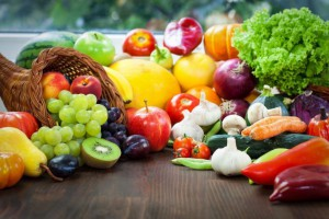 alimentation vegetarienne fruits légumes