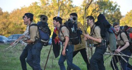 VEZELAY 2014 - guides et scouts d'europe