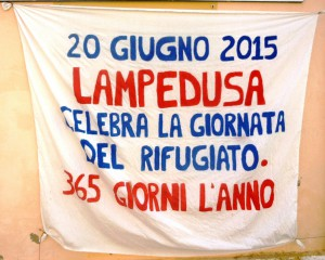 """""""Lampedusa célèbre la Journée du réfugié 365 jours par an"""""""