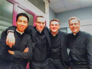vie fraternelle - séminaire - séminaristes