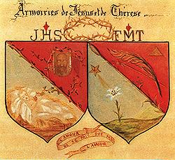 blason-sainte-therese-de-lisieux