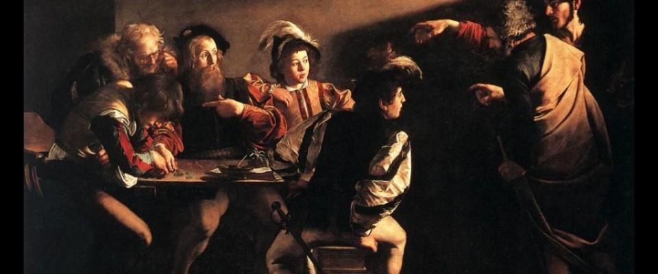 le caravage appel de saint matthieu