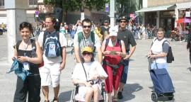 claire 2 - JMJ - diocèse de pamiers - handicap