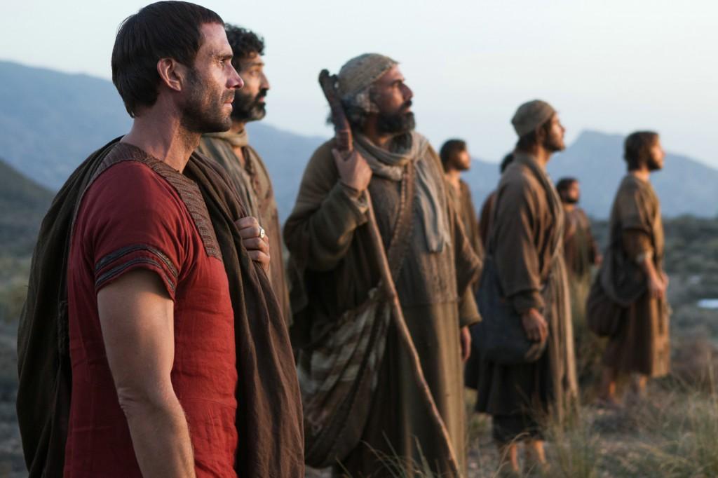 Clavius, tribun romain, cherche la dépouille du Christ avec les apôtres. Il Le voit ressuscité.  Copyright 2016 Sony Pictures Releasing GmbH