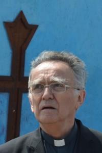 Mgr Pontier, archevêque de Marseille et président de la conférence des évêques de France