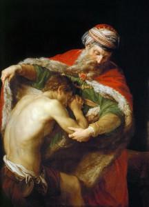 Pompeo Batoni, le Fils Prodigue