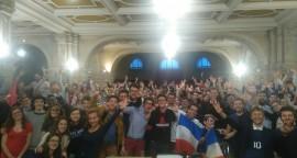 Match France-Suisse à la paroisse de la Trinité à Paris