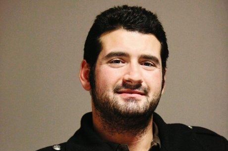 Jonathan Visse, 29 ans, adjoint national de l'aumônerie des gitans et des gens du voyage