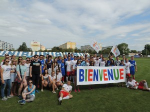 Photo de groupe Polonais Français