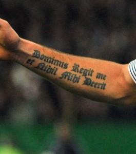 Tatouage de Giroud
