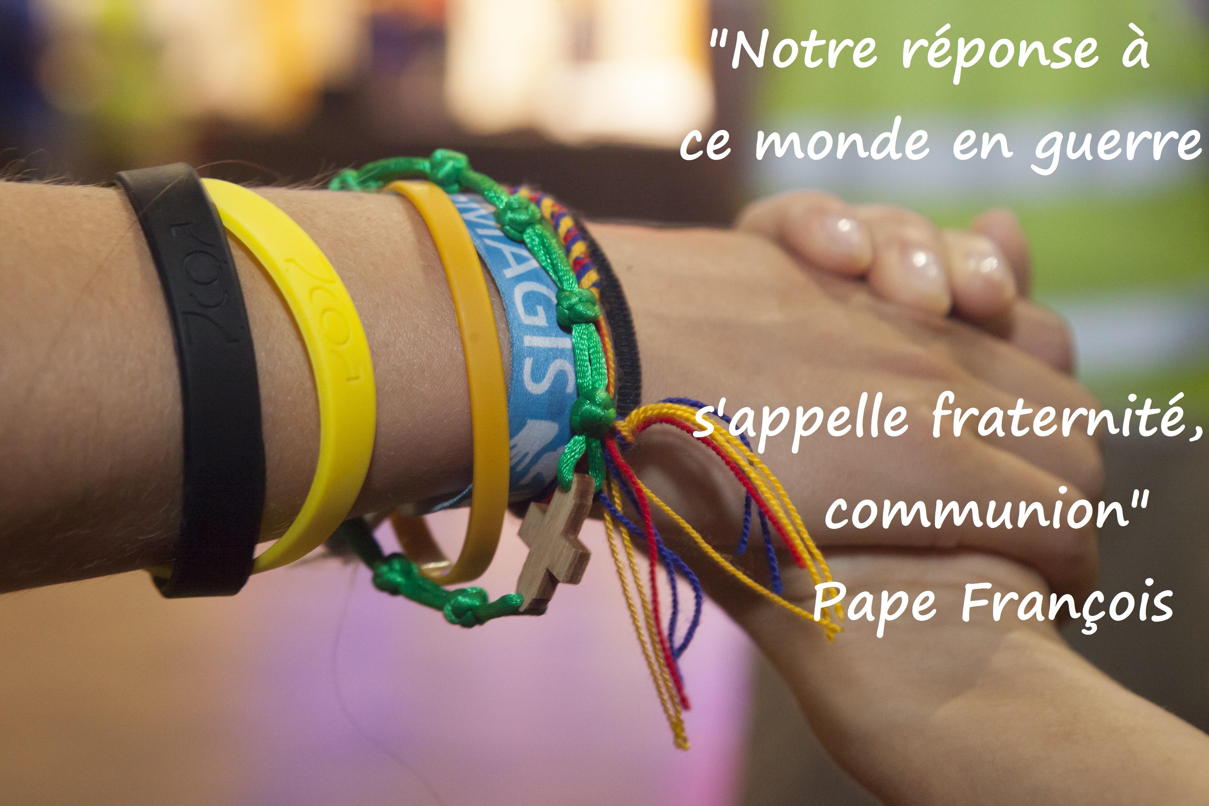 -º Pape fraternit+®