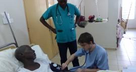 Henry à l'hôpital d'N'Djamena
