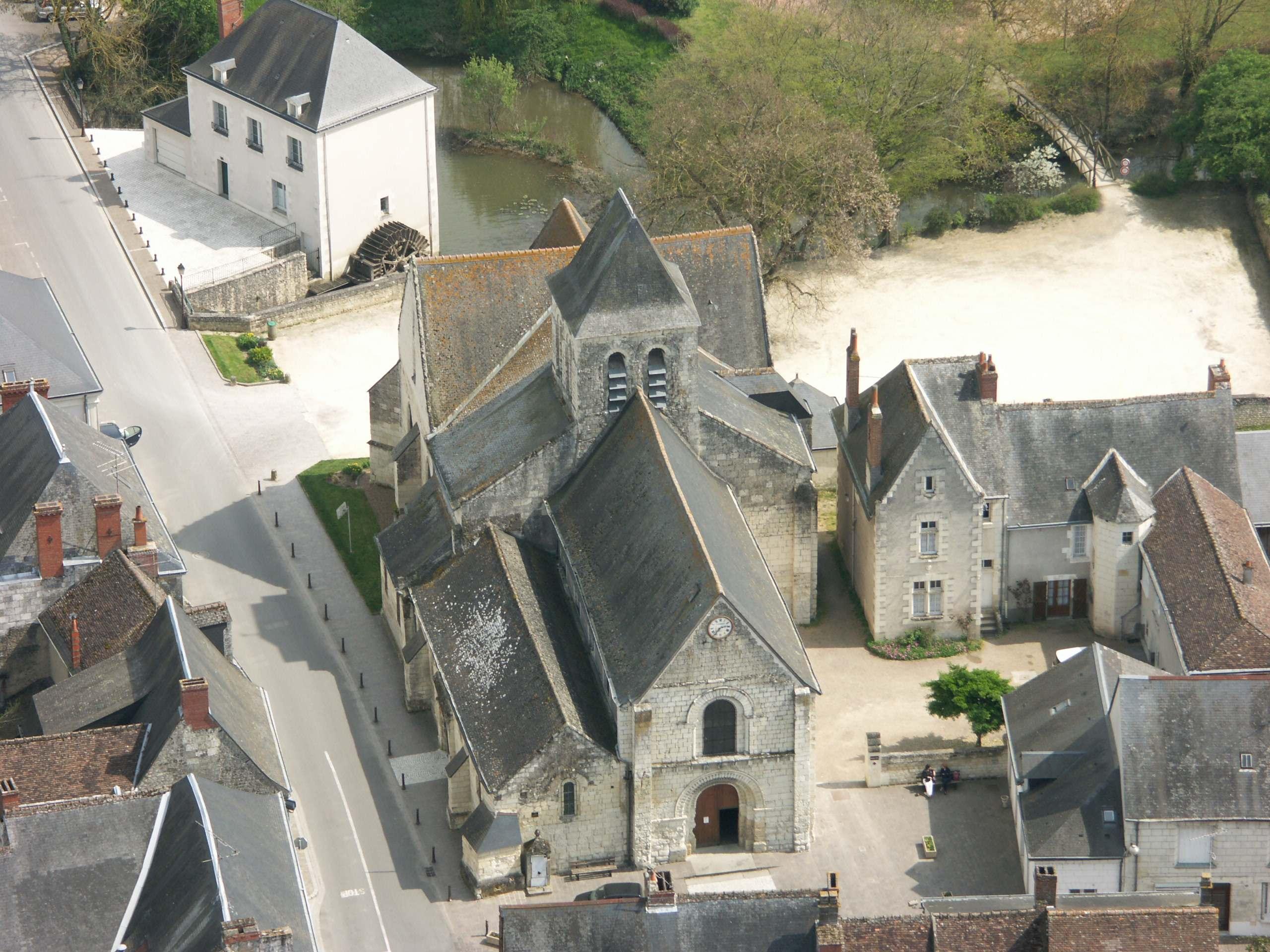 L'église Saint-Gilles de l'Île-Bouchard