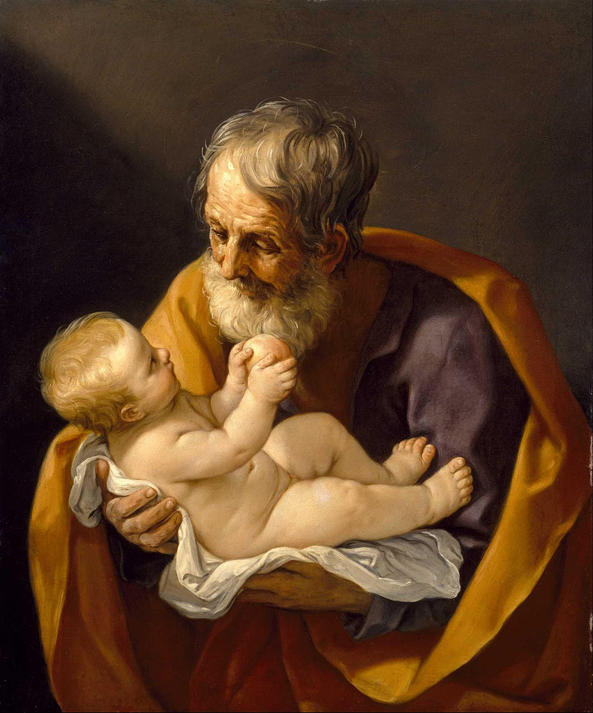Saint Joseph et l'Enfant Jésus, Guido Reni (1640)